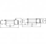 Лебедка электрическая CM Winch 12000